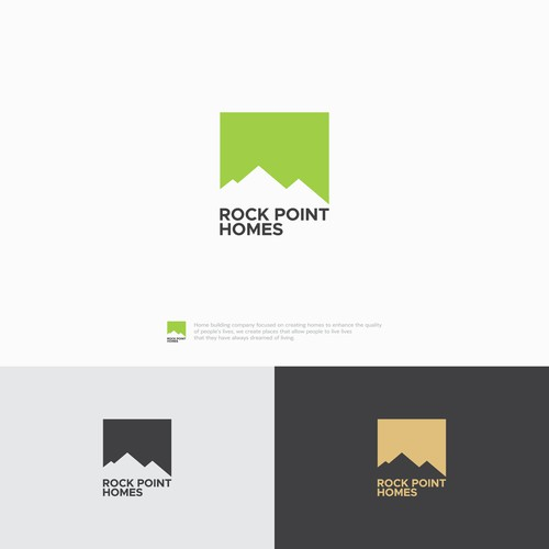 Logo for Rock Point Homes