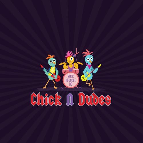 Chick N Dudes Logo