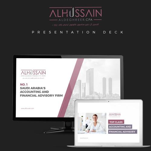 AL Hussain PowerPoint Design