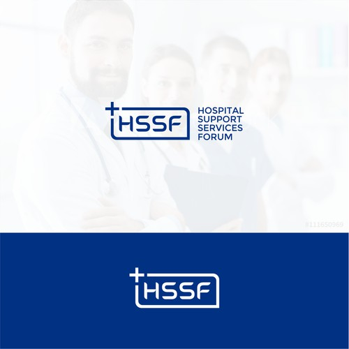 logo for hospital services forum
