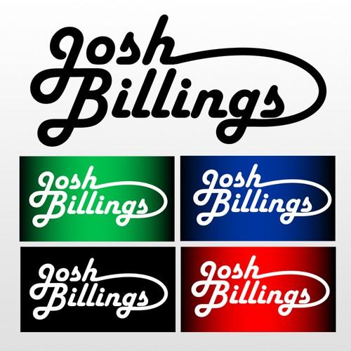 logo concept for josh billing