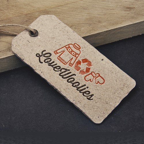 Hangtag design for LoveWoolies