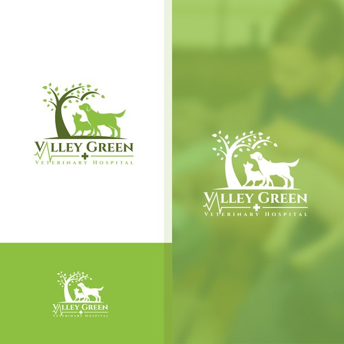 Logo for a veterinary hospital