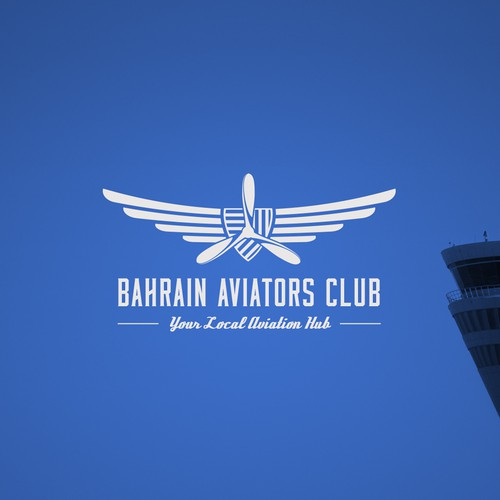 Logo concept for a flying club