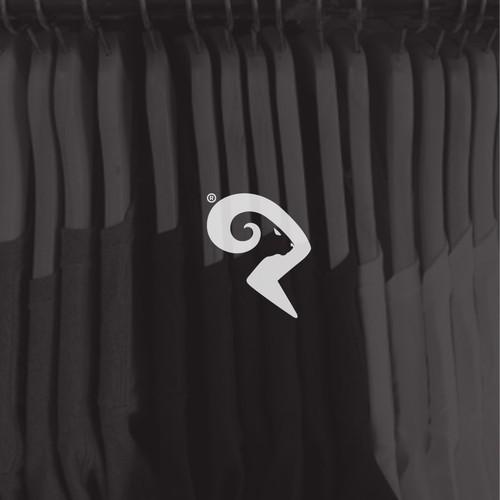 Bold logo concept for RamShirt