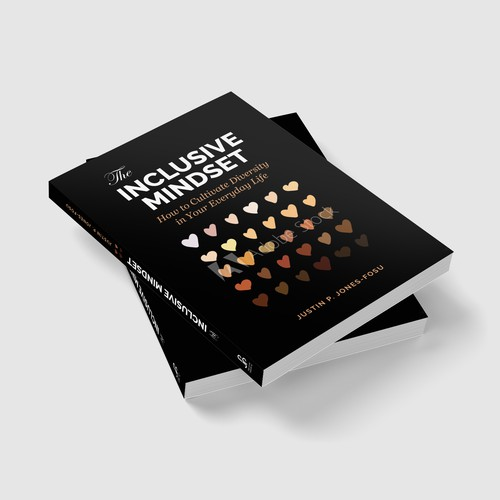 Inclusive Mindset Book cover design