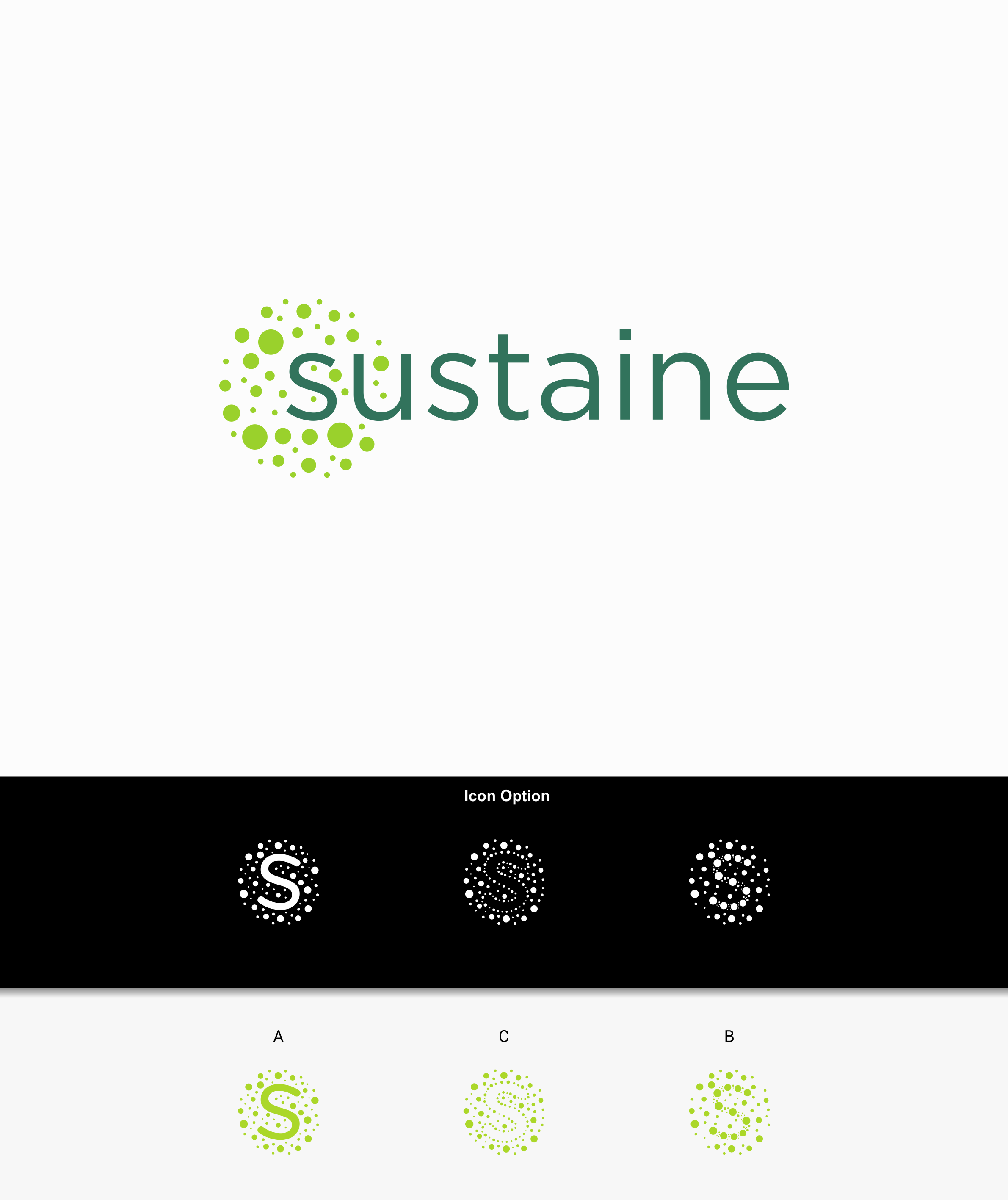 Design a logo for a technology that improves the sustainability of agriculture!