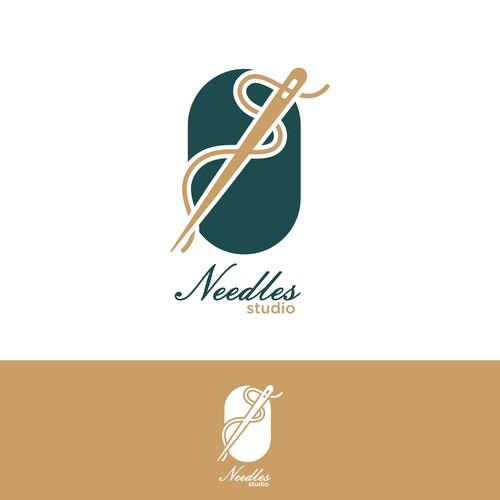 Needle logo