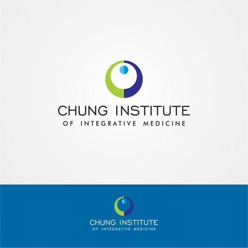 Medical logo for holistic  medicine