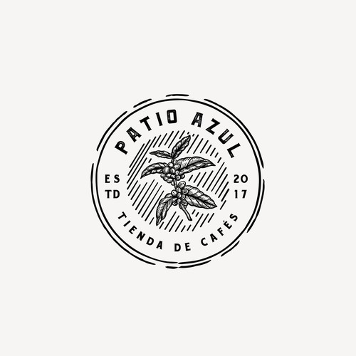 Logo for Patio Azul coffee