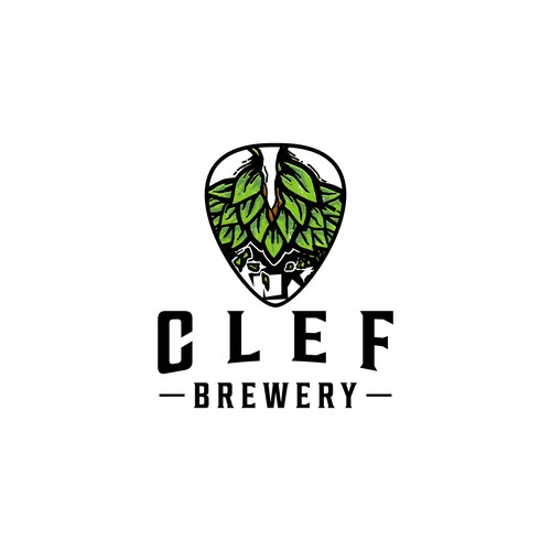 Logo Concept For Clef Brewery