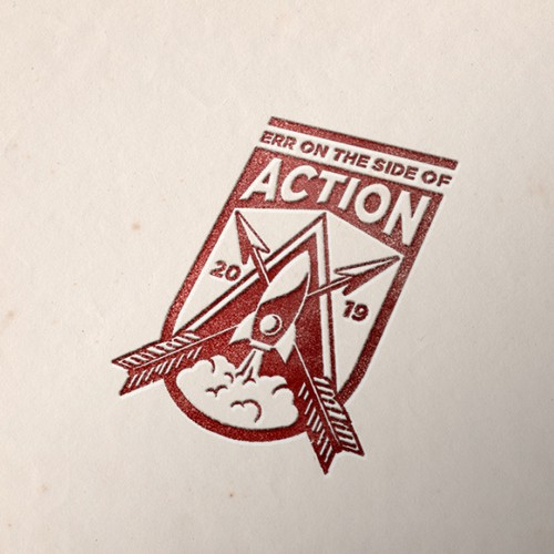 ERR on the side of ACTION logo contest