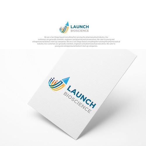 launch logo design