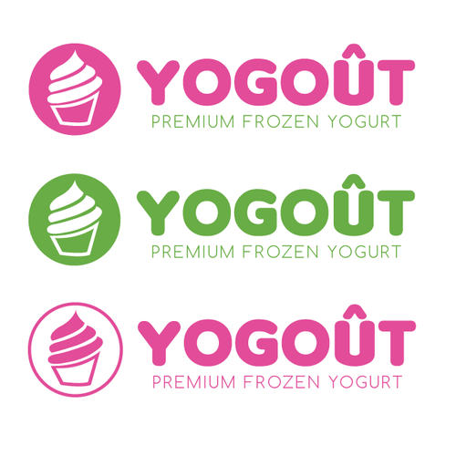 Frozen Yogurt logo redesign