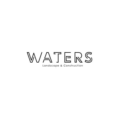 Waters Landscape & Construction Logo