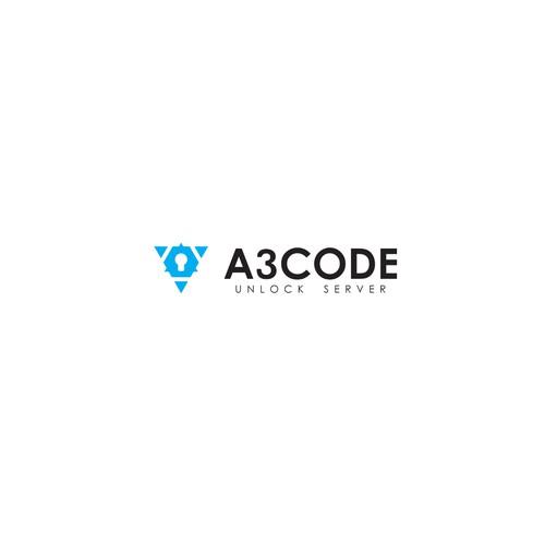 A3Code Unlock Server Web Logo