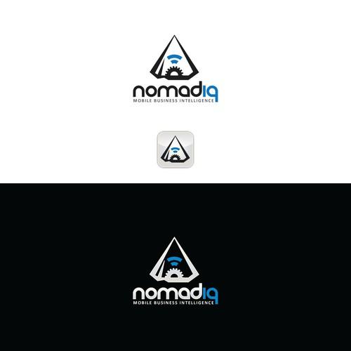 "Mobile/Web app startupseeks creative, iconic brand for scheduling / routing platform ""Nomadiq"""