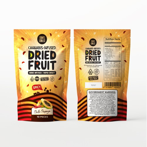 Packaging Design for Eden's Edibles