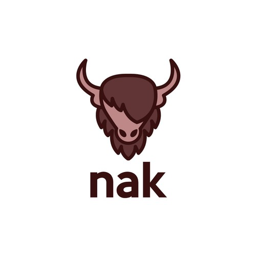Yak animal logo