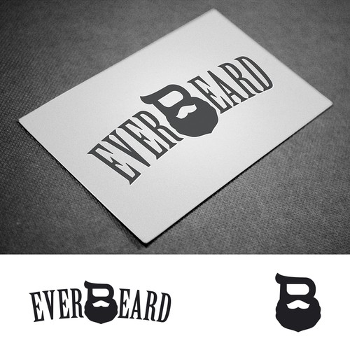 Everbeard logo design entry
