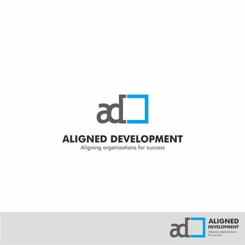 Logo concept for Aligned Development