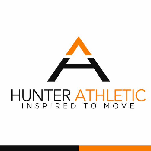 Logo concept for Hunter Athletic
