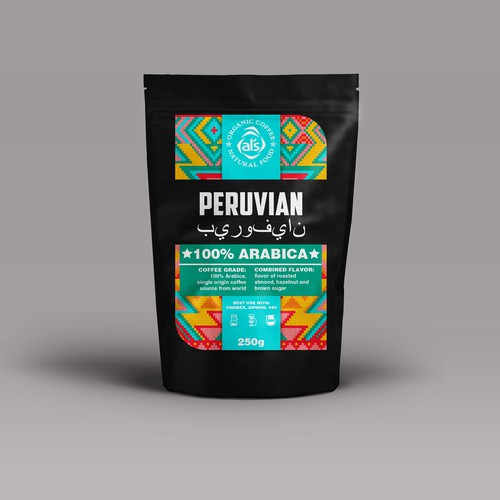 Peruvian coffee package