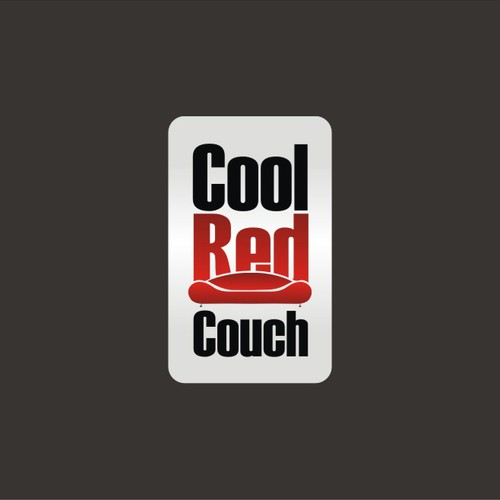 Cool Red Couch logo Design