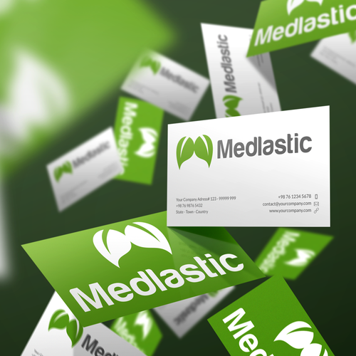 Medlastic Logo Design