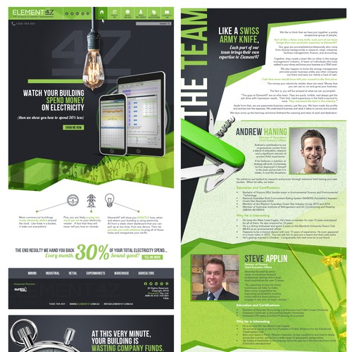 Element47 Website Design