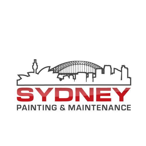 sydney painting & maintenance needs a new logo