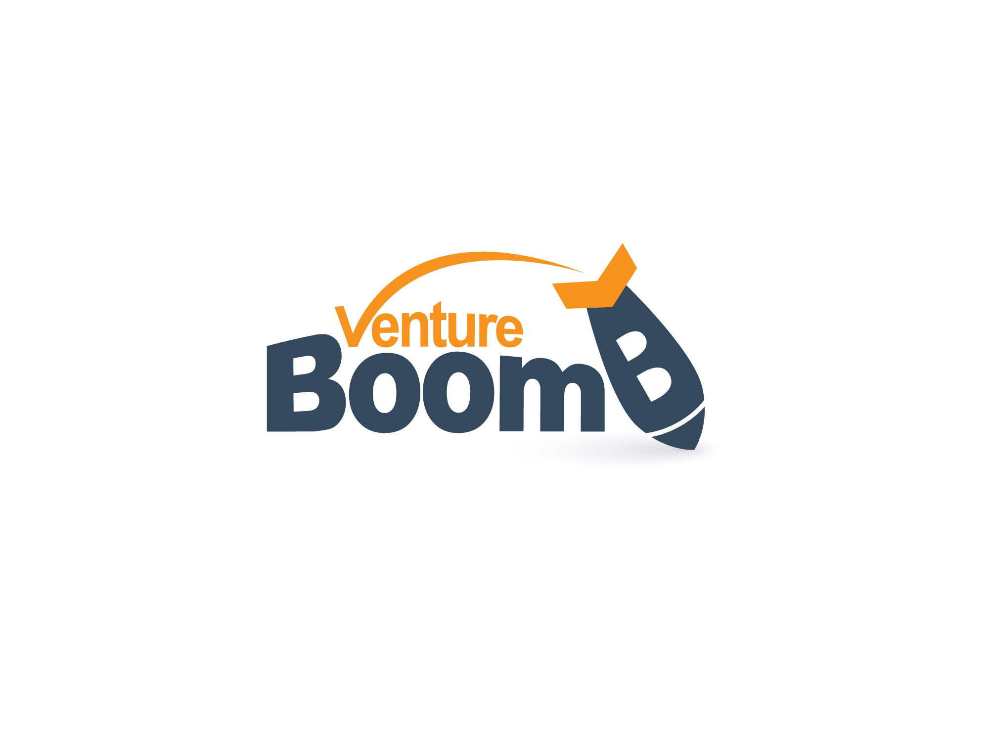 Create a minimalists conference logo for VentureBoom