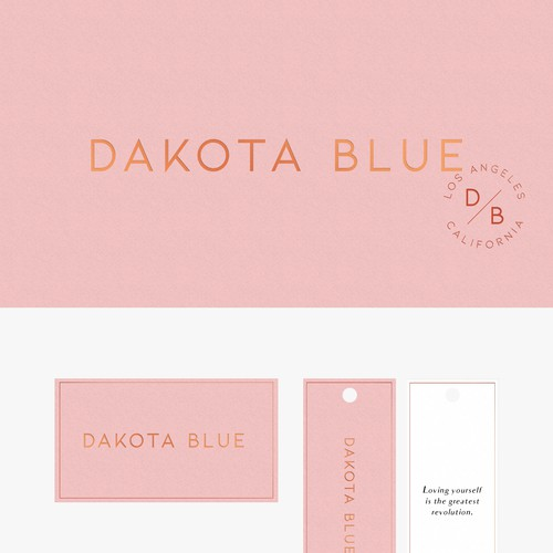 Branding for a fashion company
