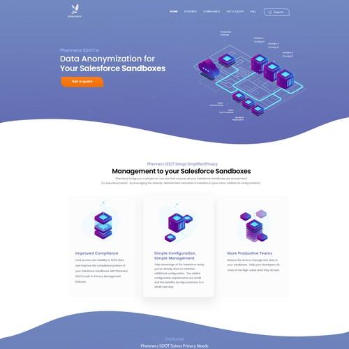Phennecs website reimagining / redesign
