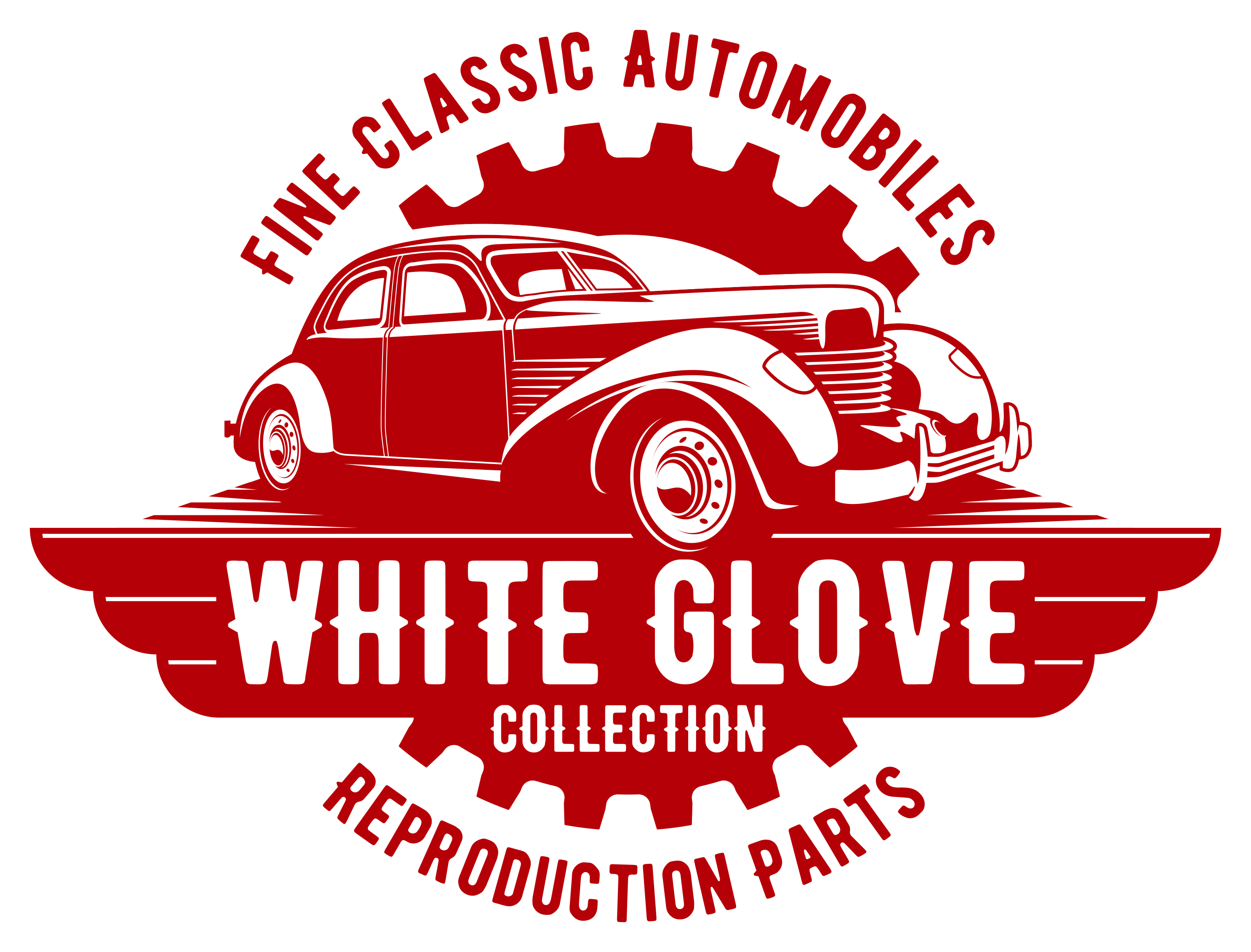 Create a Classic Look for a Classic Automobile and Parts Seller