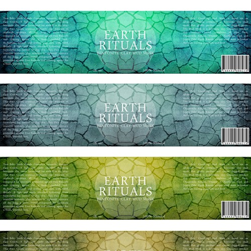 Label design for a new mud mask!