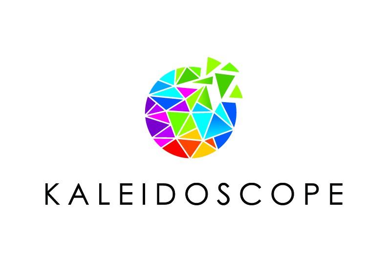 Design an innovative logo for Kaleidoscope