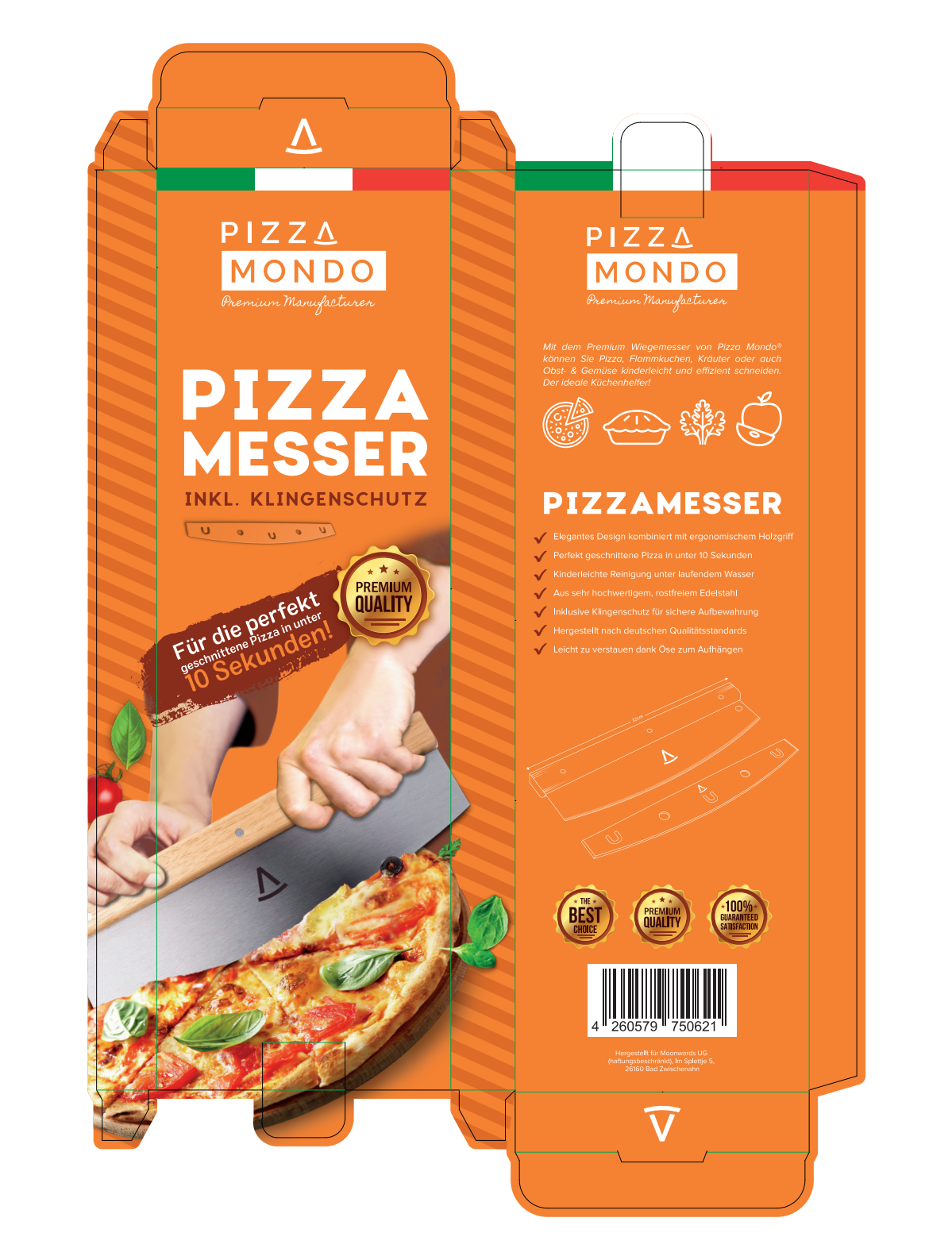 Box for Pizza Cutter