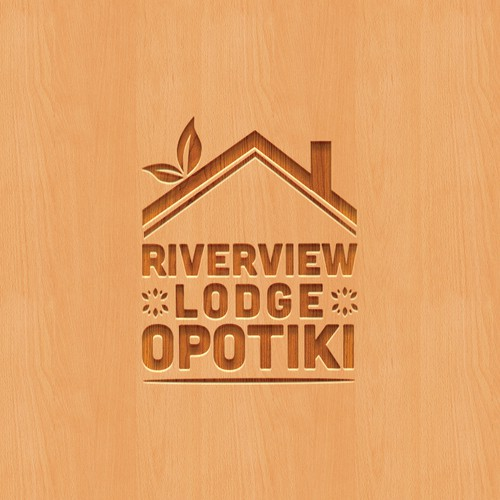 Logo design for Riverview Lodge Opotiki