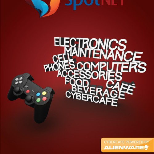 student cybercafe flyers