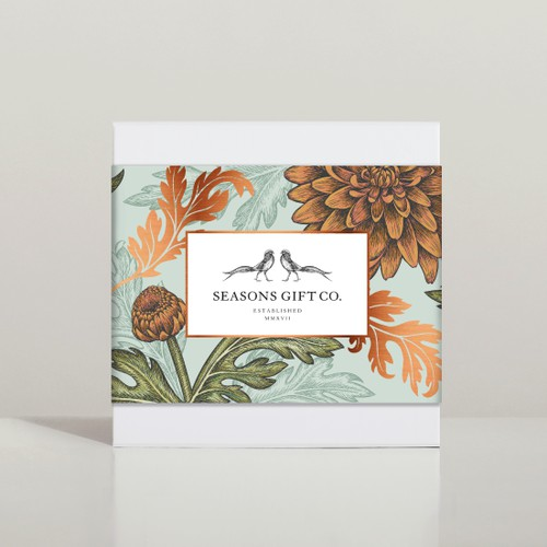Seasons Gift Co. - Gift boxes design