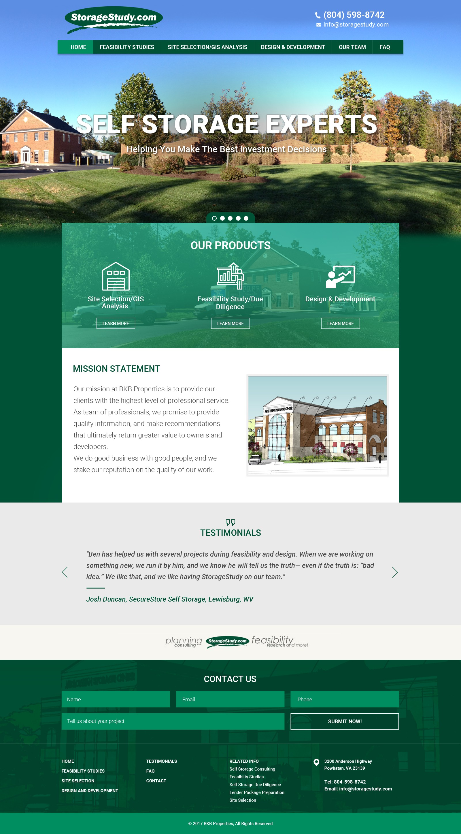 Consulting company needs modern website redesign