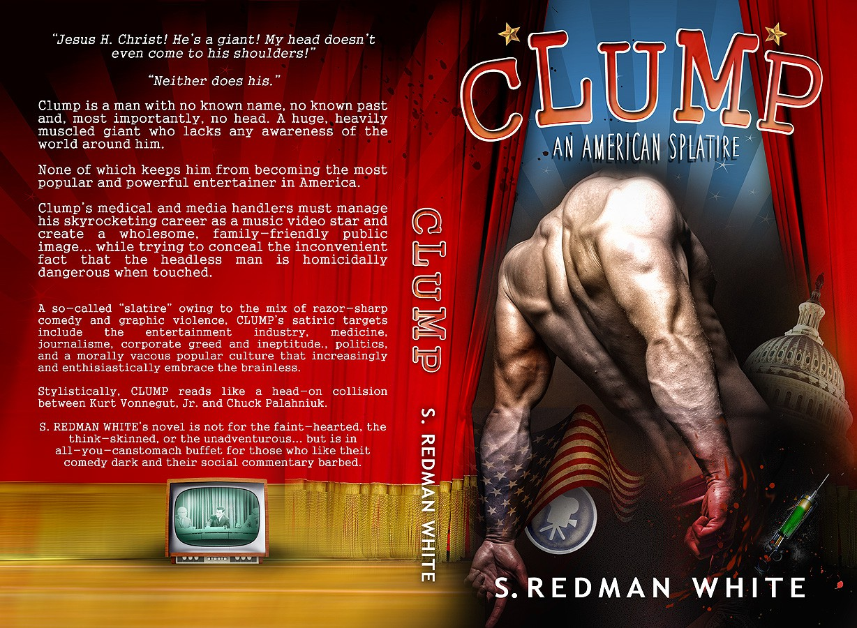 It's Alive! Create a shocking, funny cover for book about headless man!