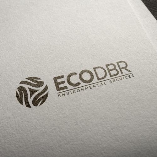 Abstract logo, ECODBR