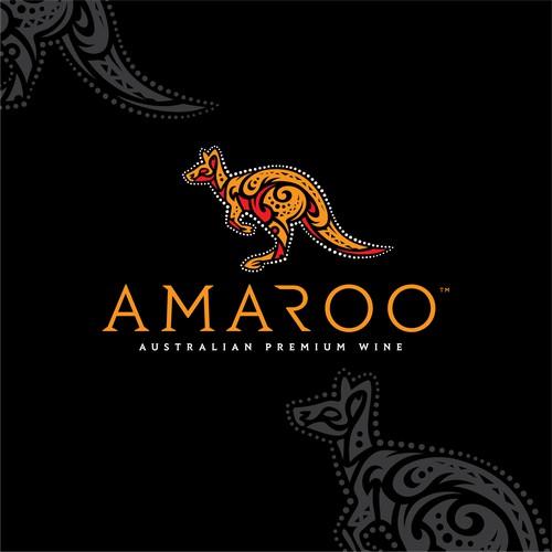 Amaroo Premium Wine Logo