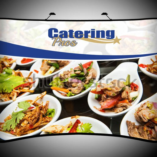 Backdrop for Catering Pros