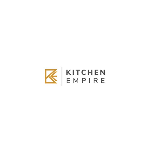 Logo concept for a company that supplies luxury kitchen & bath supplies