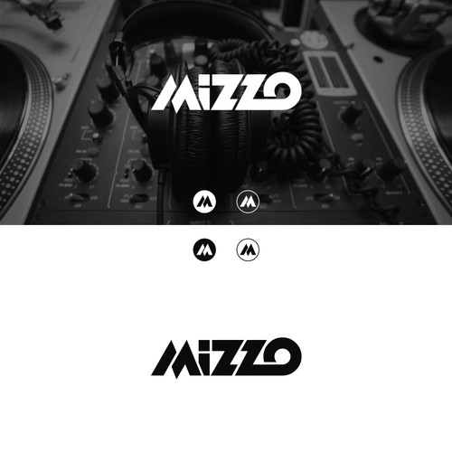 Bold logo for a dj