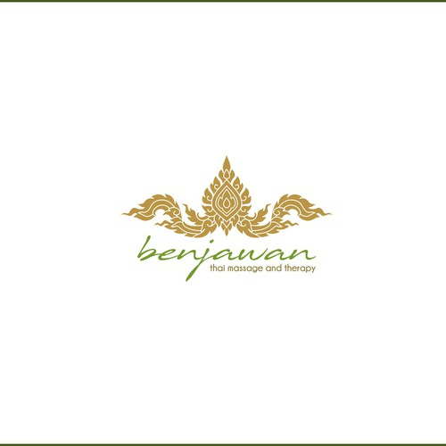 Ethnic logo for Spa
