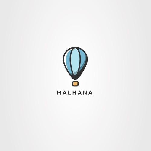 Bold logo concept for MALHANA